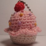 Itty Bitty Amigurumi CuppyCake - Back View
