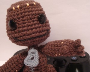 Little Big Planet Amigurumi Sackboy