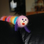 Needle Felted NobyNoby Boy - Time to Play